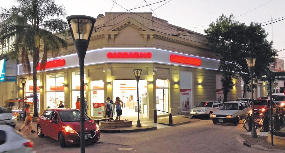Garbarino. Nuevos locales con el mismo sello / ARQ Clarín